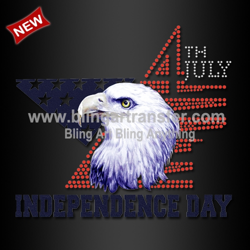 image about Heat Transfer Printable Vinyl referred to as July 4th Flexibility Working day Eagle Structure Warmth Go